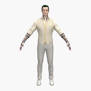 man male guy 3D model