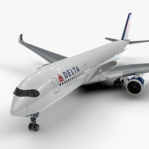 a350-900 delta airlines l1099 model