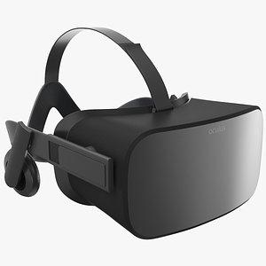 3D VR Goggles model
