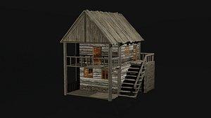 HOUSE VILLAGE 3D model