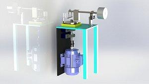 3D PIN-DISC WEAR TESTER