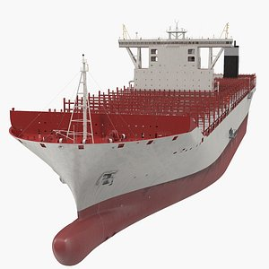3D Ultra Large Container Vessel