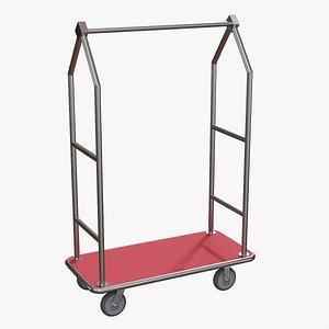 Hotel cart 04 3D model