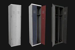 Colored Realistic Locker