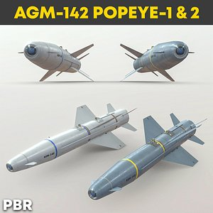 AGM-142 Popeye 3D model