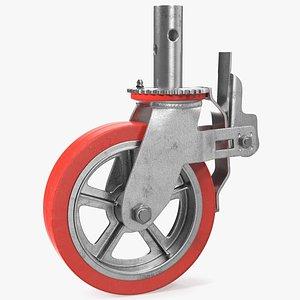 3D Heavy Duty Swivel Caster with Brake
