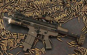 weapon gun rifle model