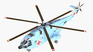 rotorcraft helicopter 3D model