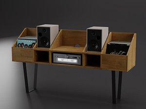 3D model Vinyl Storage No-10
