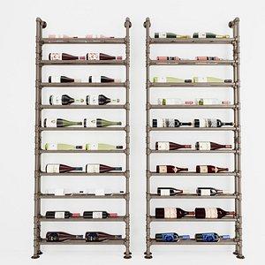 Wine Rack WR6 3D