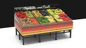 3D model vegetable rack