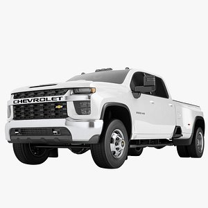 Chevrolet Silverado 3500 HD 2021 02 3D