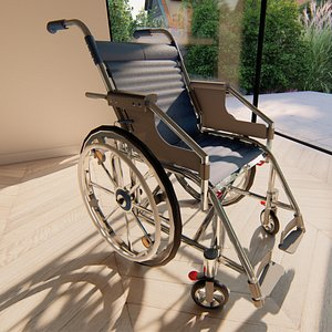 3D Wheelchair model