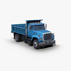 l8000 dump truck 3D model