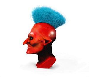 head 3D model