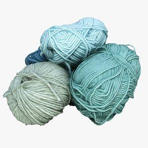 yarn art 3D model