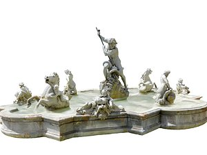 Rome Fountain model