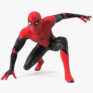 3D Spider Man Ready Pose