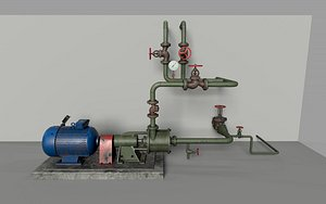 3D industry pumping model