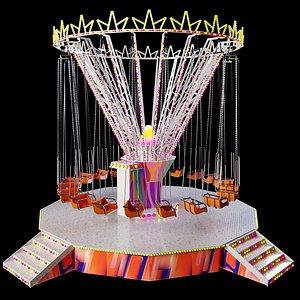 3D Carousel model