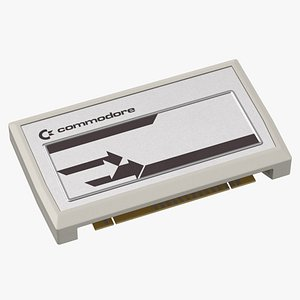3D vic 20 cartridge metallic