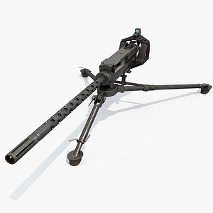 3D gau-21 machine gun model