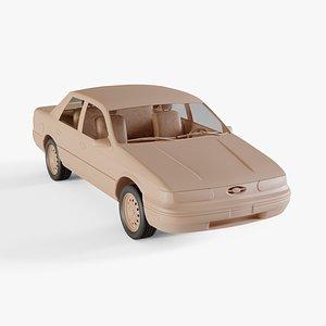 1992 Ford Taurus 3D