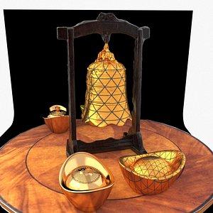 bell yuanbao 3D model