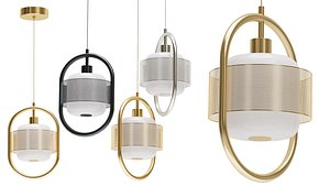3D Hanging lamp Mossen Lampatron model