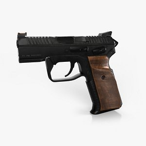 gun pistol weapon 3D model