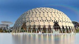 Expo 2020 Dubai Al Wasl Dome only model