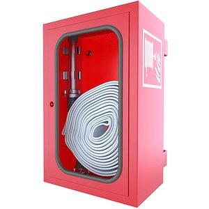 3D box wall emergency model