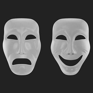 theatre tragic 3D model