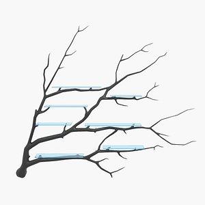 tree shelf 3D