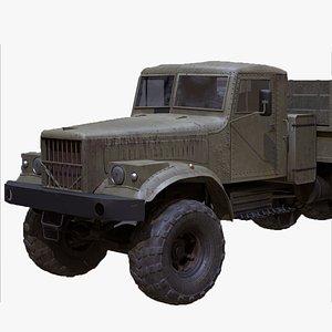 3D KrAZ-255 model