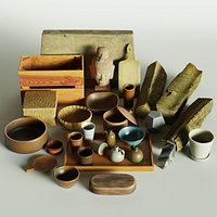 Scanned Deco Object Collection