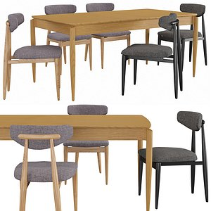 3D Chair Table Nochy model