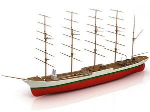Cap Horn Ship 3D model