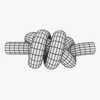 three overhand knot