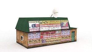 3D russian environment denlog model