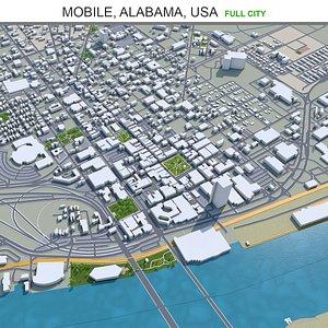 3D model Mobile Alabama USA