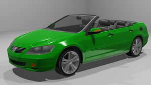 cabriolet car model