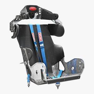 kirkey containment racing seat 3D model