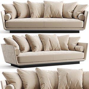 3D BeB Italia Noonu Sofa model