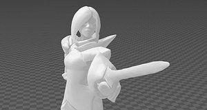 3D model fiora