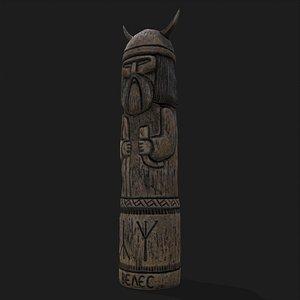 Velez Statue 3D model