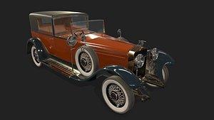Car HispanoSuizaH6B 3D model