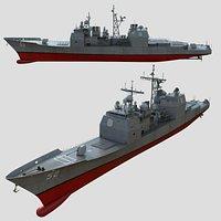 Cruiser Warship