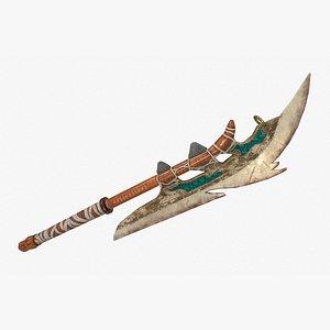 bone axe 3D model