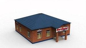Electrical Store 3D model
